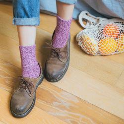 Cashmere inverno quente confortável grossos Fios Paralled meias de homem de lã merino térmica
