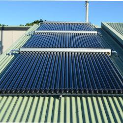 Haut de la qualité de la chaleur du tuyau tube évacué renversé avec collecteur solaire SRCC