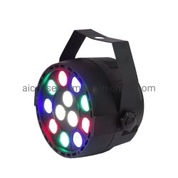 Het mini Kleurrijke LEIDENE 12X1w RGBW Licht van het PARI