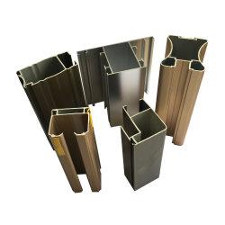 Calientes! Perfil de aluminio para puertas y ventanas correderas de aluminio de la puerta de armario