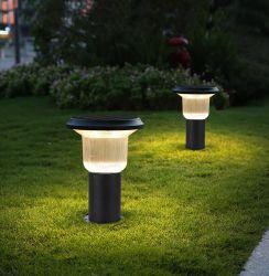 Nuovi indicatori luminosi solari esterni impermeabili del giardino della plastica LED