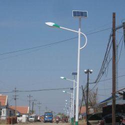 IP65 energiebesparende geïntegreerde LED-sensor voor buitengebruik in de tuin, Solar Street /weglamp met paneelsensor en lithiumbatterij