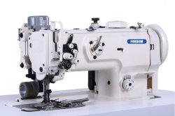 Double fermeture à glissière à usage intensif de l'aiguille de fixation de la machine à coudre