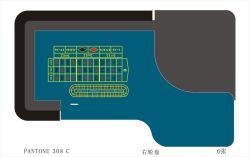 Design personalizado da mesa da roleta Baccarat jogo de póquer Casino Layout