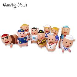 공장도 가격 애완 동물 새로운 애완 동물 제품 유액은 삐걱거리는 유화액 돼지 모양 장난감을 미행한다
