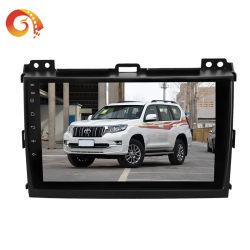 熱い販売9インチの人間の特徴をもつ完全な接触容量性スクリーンサポートGPS車DVDのビデオ