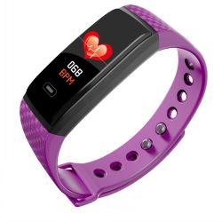 Зарядка через USB Bluetooth удаленной камеры смотреть мобильный телефон с частотой сердечных сокращений для измерения кровяного давления Rete браслет IP67 водонепроницаемый смотреть