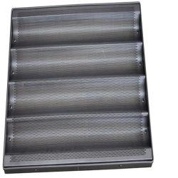 Heißes verkaufendes perforiertes Aluminium, das nicht französische Stangenbrot-Wannen-/Stangenbrot-Form beschichtet