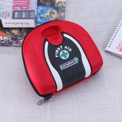 Rode Medische Defibrillator het Dragen Gevallen, het Geval van de Eerste hulp van EVA van de Reis van de Noodsituatie