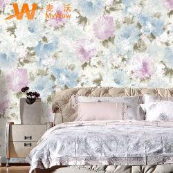 Papier peint en PVC étanche pour la décoration (0,53*10M) haute qualité&Fleur Revêtement mural en PVC