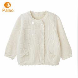 Abbigliamento bambino anteriore aperto Produttore Custom Jacquard pullover Design autunno Boutique Kid Cardigan in cotone Knit nuovo nato