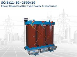 Sc B11-30~2500/10 de la résine époxy moulé transformateur de puissance de type sec