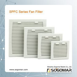 El gabinete plástico filtro RAL7035 9806 Spfc9805 para 4/6/8 pulgadas de fan