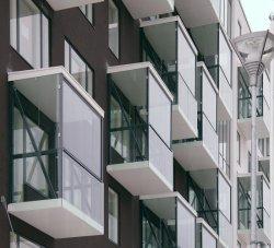 Foshan Fabrication de fenêtres en vinyle PVC PVC Aluminium rond en alliage de fenêtres à battants auvent de vitre de la rupture thermique pour la vente de la fenêtre
