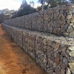 Paniers en gros de mur de la maille 80X100mm Gabion de la Chine