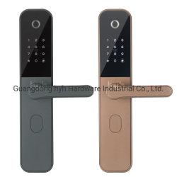 La contraseña de la tarjeta RFID de huella dactilar digital eléctrico de seguridad sin llave cerradura de puerta del hotel