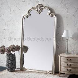 Gran ligera Full-Length espejo PU ornamentales