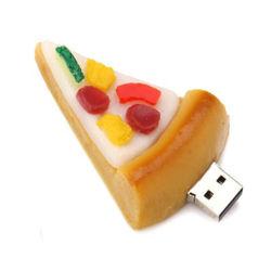 Pizza Drives USB Flash Memory Stick USB Alimentar Bonitinha de disco USB