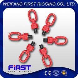 Heavy Duty de rigging Hardware pintados de rojo de enlace de vuelta el tornillo elevador anillo giratorio