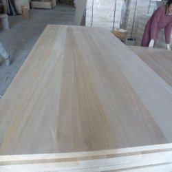 Madera de balsa de madera inacabadas del modelo de placa de madera natural de la Junta hojas delgadas de madera artesanales
