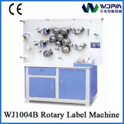 Ampla Aplicação frente e verso de alta velocidade de fita rotativo prensas de Rótulo