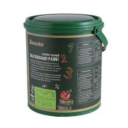 Хорошее качество 1кг Упаковка Chalkboard черного цвета краски для украшения