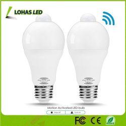 Meilleure vente 9W du capteur de mouvement IRP ampoule LED