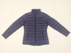 Женские Fashion дизайн сверхлегкий вниз куртка, повседневный пиджак, зимние куртки, пошив одежды, одежду и обувь, открытый подогреваемый износа в зарядное устройство
