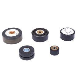 China-Fabrik-Qualitäts-kundenspezifische Form-kleine Auto-Gummiräder