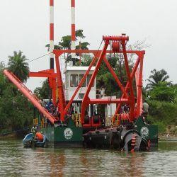 Rio superior o equipamento de dragagem do Rio / Máquinas de dragagem
