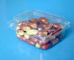 caixa de empacotamento da fruta plástica da parte superior da bolha do animal de estimação 250g