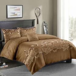 Comercio al por mayor la microfibra 100% poliéster textil ropa de cama de conjuntos de edredón de impresión