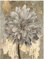 Illustrazione contemporanea della decorazione della grande dei fiori della parete pittura a olio moderna dipinta a mano di arte (40X 40 pollici) GF-P19052775