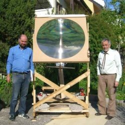 Линза Френеля солнечной энергии для приготовления пищи (HW-F1000-1) линза Френеля объектив солнечной энергии