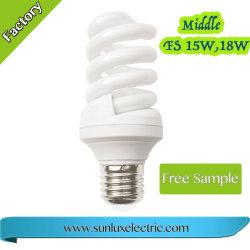 Energiesparende Birnen-Spirale-Beleuchtung des Birnen-Licht-15W18W E27 grosse volle gewundene kompakte
