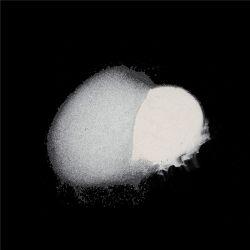Perlas de vidrio reflectante en polvo, con superficie de la ISO de desbarbado