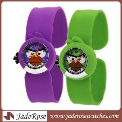 """Caricature d'enfants"""" regardent Cute montre-bracelet Mode Filles Garçons étudiant Silicone montres quartz watch"""