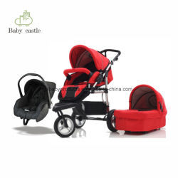 2018 Wandelwagen 3 van de Baby van de Hoogste Kwaliteit in 1 Baby Joggy