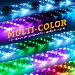 回転ブレーキライトRGB LEDフラグライトATV部品との卸し売り工場価格12V 3FT Bluetooth APP制御