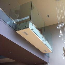 Distanzhülsen-ausgeglichenes Glas-Geländer des modernen Entwurfs-2018