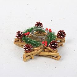 축제 장식 인공 크리스마스 나무 목재개발 공예
