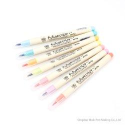823 فرشاة قلم 12 مشرقة لون خطّ رسم [ديي] بطاقة يجعل