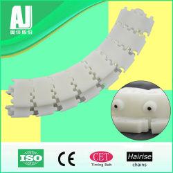 2480 Pmz Hairise personalizada mayorista Multiflex de plástico de buena calidad las cadenas de transporte para la industria de lácteos