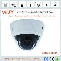 De in het groot Waterdichte IP van de Veiligheid van kabeltelevisie van de Koepel van IRL Video van het Netwerk van de Camera