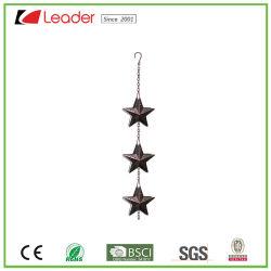 Estrela de Ferro Hot-Sale Cadeia chuva - Bronze antigo para decoração de casa e jardim
