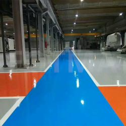 Revestimento de piso Autonivelamento epóxi poliéster pintura a pó