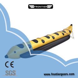 5.5m / 18FT PVC 접이식 팽창식 바나나 보트 / 플라이 낚시 보트