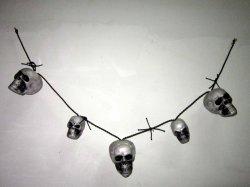 Хэллоуин висящих украшения тыквы аксессуаров светильника группа оформление черепов головки блока цилиндров