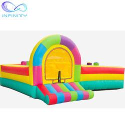 Les enfants Partie Mini saut intérieure salle de gym gonflable Obstacle Inflatable Bouncer à cheval