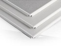 실내용 장식을 위한 천공 목재 알루미늄 금속 루스터 천장